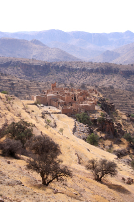 An ancient village in the Anti Atlas