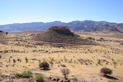 The ancient fortified village of Tioulit, Anti Atlas