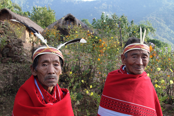 Khayang village elders.